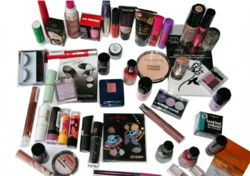 50 x Branded Makeup Assorted Full Size Cosmetics | Inc Maybelline NYC Collection